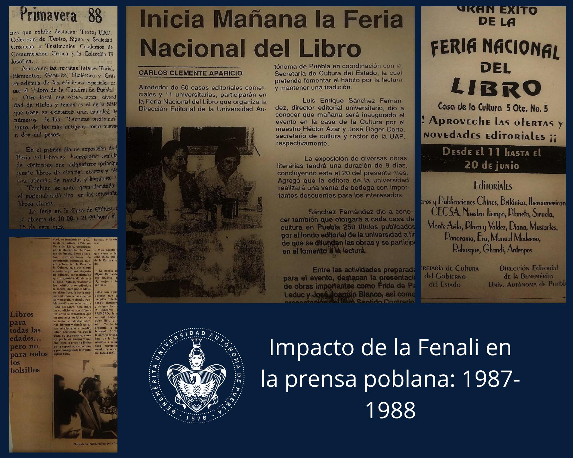 Historia Feria Nacional del Libro BUAP
