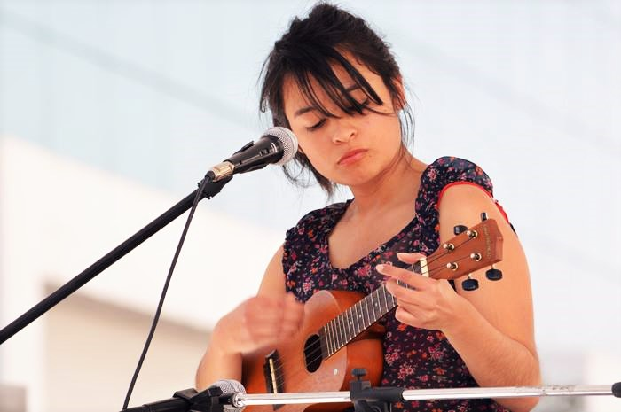 Caro Rocha actuación en la Fenali 2016 Complejo Cultural Universitario BUAP Puebla