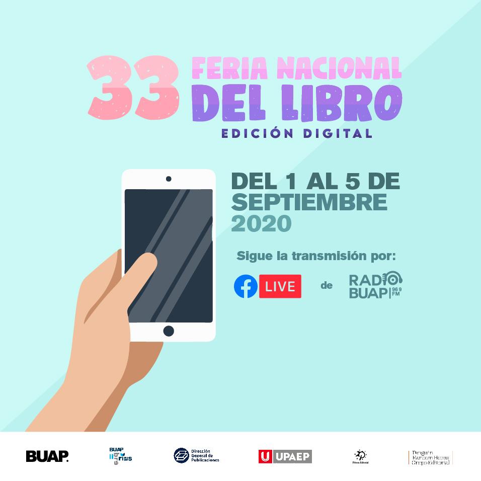 33 Feria Nacional del libro BUAP Edición Digital